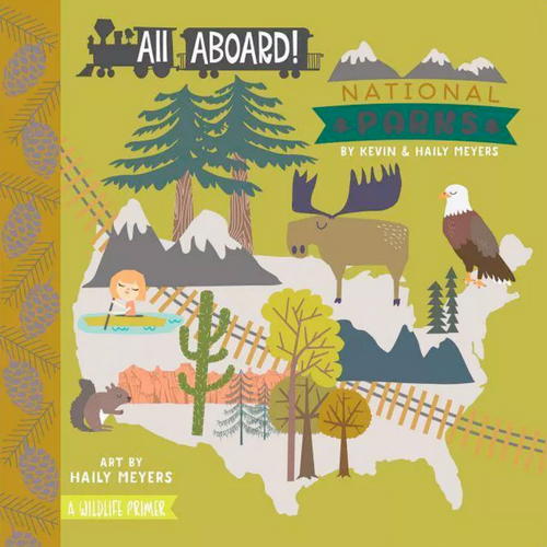 ALL ABOARD NATIONAL PARKS FRONT COVER