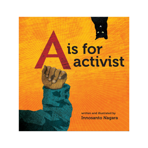 A IS FOR ACTIVIST FRONT COVER