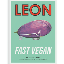 Load image into Gallery viewer, LEON FAST VEGAN COOKBOOK FRONT COVER