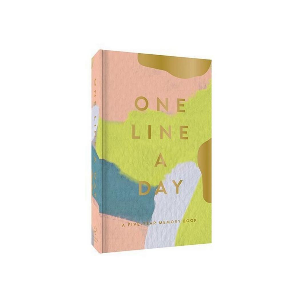 ONE LINE A DAY BOOK COVER