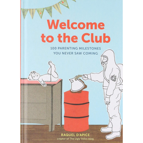WELCOME TO THE CLUB FRONT COVER