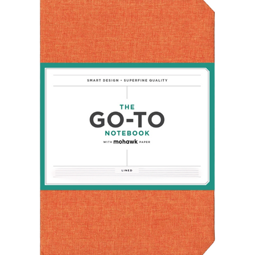 THE GO-TO NOTEBOOK PERSIMMON FRONT COVER