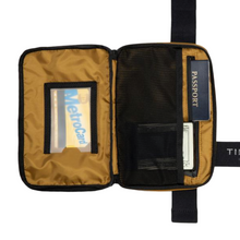 Load image into Gallery viewer, SLINGSHOT CROSSBODY BAG | BRASS INSIDE VIEW