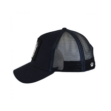 Load image into Gallery viewer, LONE  WOLF TRUCKER HAT SIDE VIEW