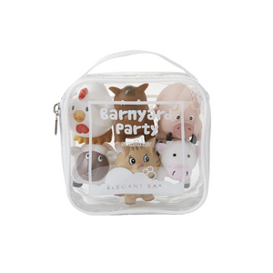 SQUIRTIES BARNYARD PARTY IN CARRYING CASE