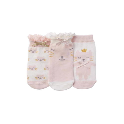 KITTY BABY SOCKS 3PK