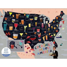 Load image into Gallery viewer, COCKTAILS ACROSS AMERICA PUZZLE
