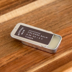 TIMBER SOLID COLOGNE TIN OPEN