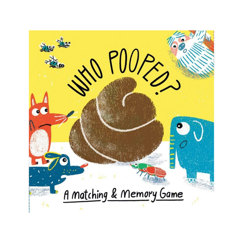 WHO POOPED MATCHING & MEMORY GAME