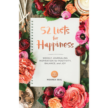 Load image into Gallery viewer, 52 LISTS FOR HAPPINESS FRONT COVER