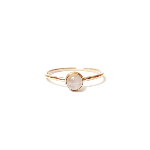 MOONSTONE STACKING RING