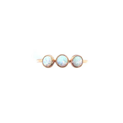 THREE SISTERS OPAL RING