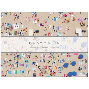 GRAY MALIN 2 SIDED BEACH PUZZLE