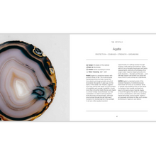 Load image into Gallery viewer, CRYSTALS: THE MODERN GUIDE TO CRYSTAL HEALING INSIDE PAGES
