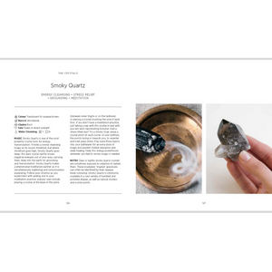 CRYSTALS: THE MODERN GUIDE TO CRYSTAL HEALING INSIDE PAGES