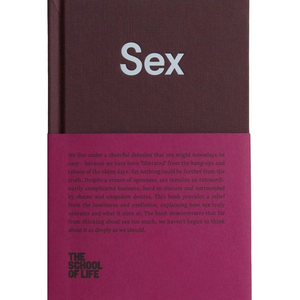 THE SCHOOL OF LIFE: SEX front cover