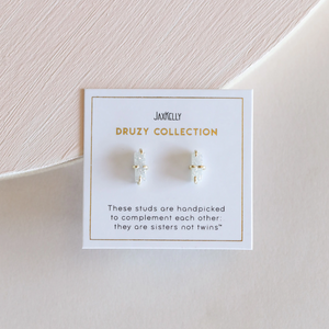 WHITE BAR DRUZY ON PACKAGING