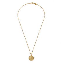 Load image into Gallery viewer, AMOUR MEDALLION NECKLACE