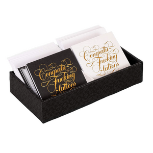 YOU'RE THE F*CKING BEST NOTECARD SET INSIDE
