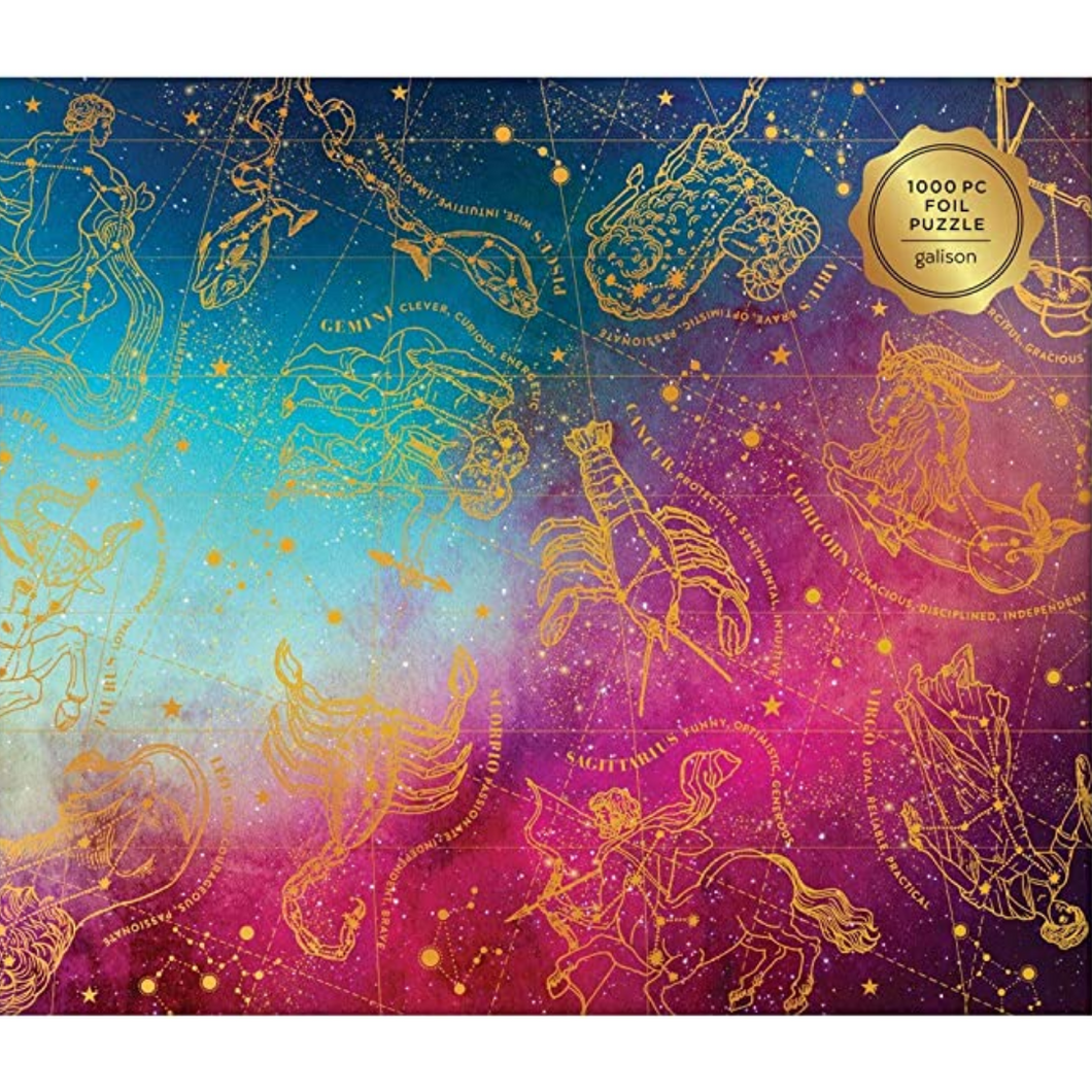 ASTROLOGICAL SIGNS FOIL PUZZLE