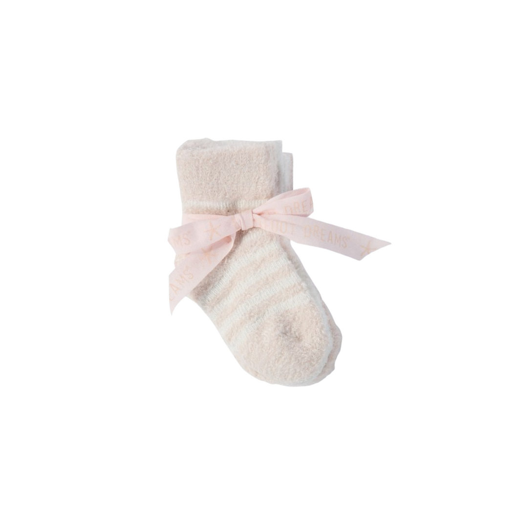 COZY CHIC INFANT SOCKS 3-PACK | PINK