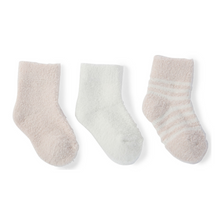 Load image into Gallery viewer, COZY CHIC INFANT SOCKS 3-PACK | PINK