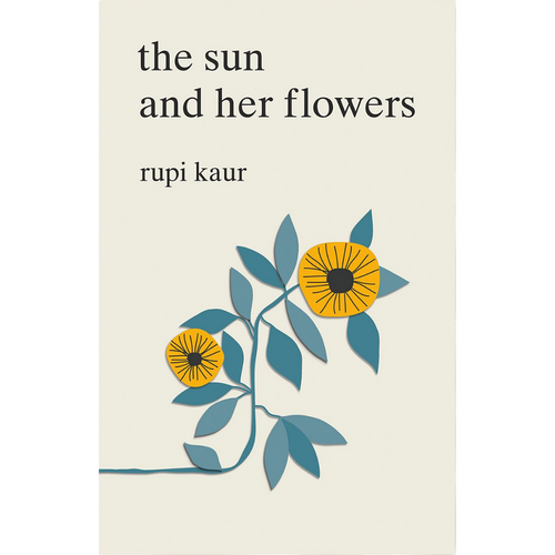 THE SUN AND HER FLOWERS FRONT COVER