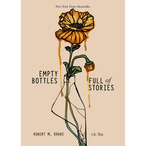 EMPTY BOTTLES FULL OF STORIES FRONT COVER