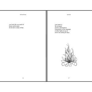 MILK AND HONEY | HARDCOVER INSIDE POEMS