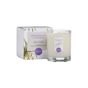 LEMONGRASS LAVENDER 7.5 OZ CANDLE WITH BOX