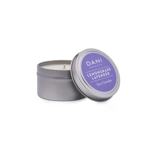 LEMONGRASS LAVENDER 6 OZ TIN CANDLE