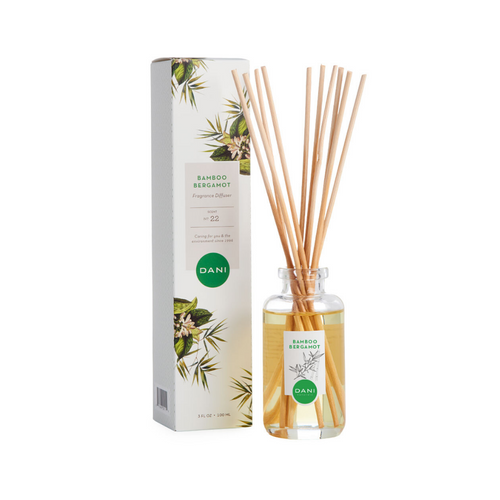 BAMBOO BERGAMOT REED DIFFUSER WITH BOX