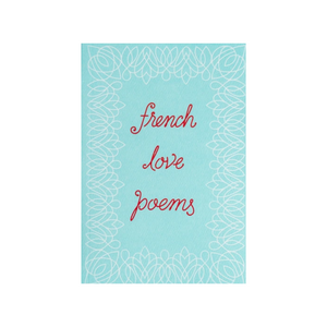 FRENCH LOVE POEMS FRONT COVER