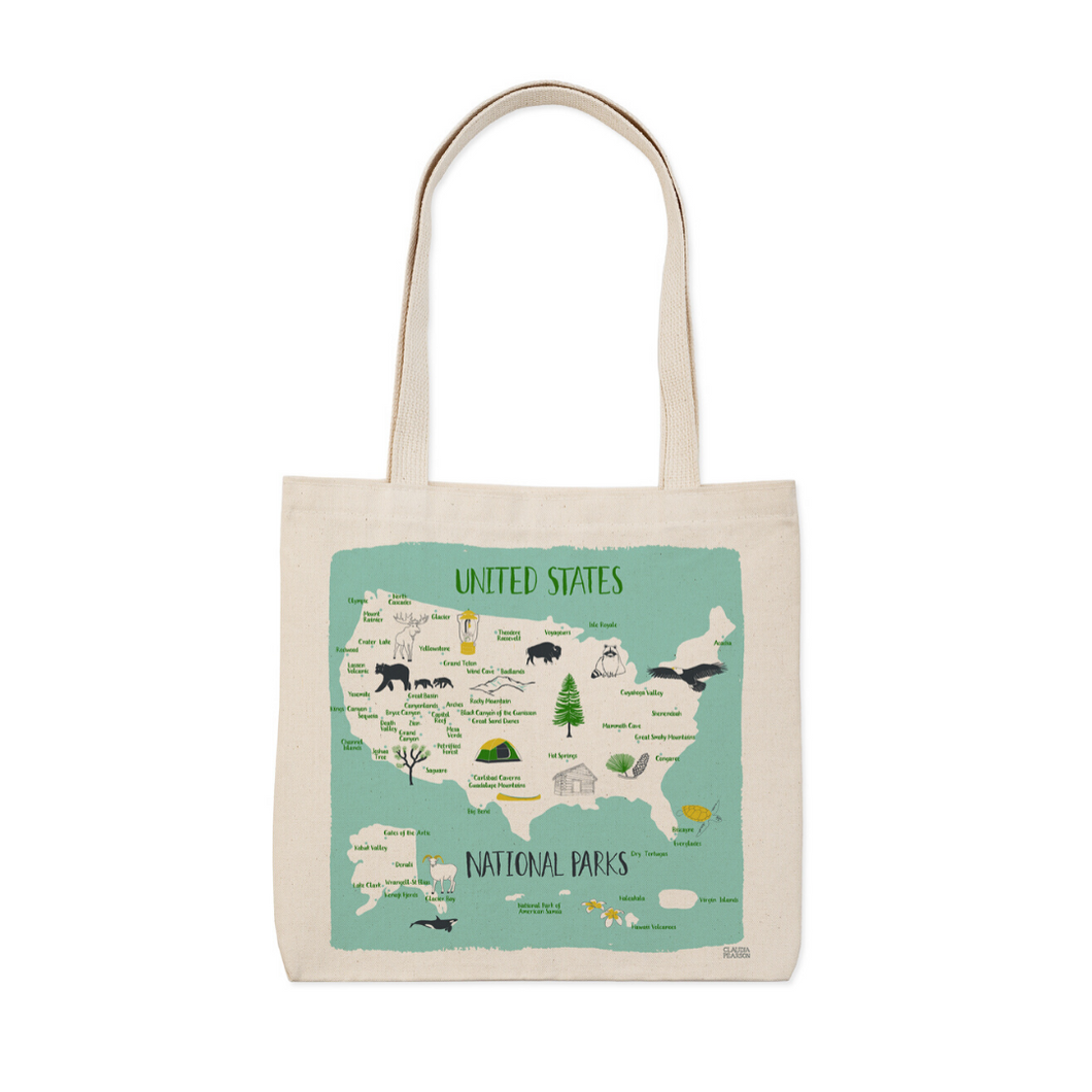 NATIONAL PARKS EVERYDAY TOTE