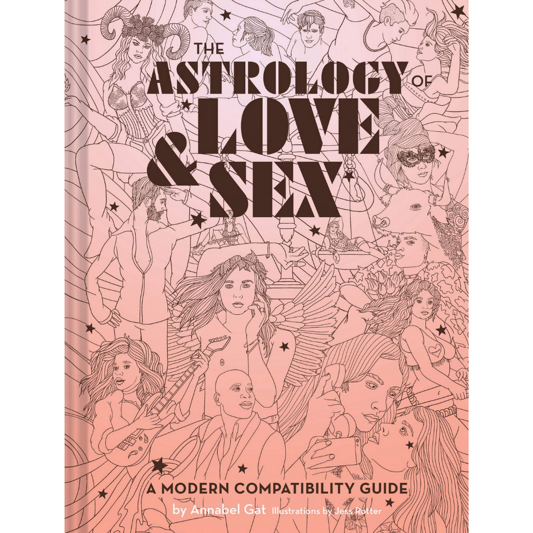 THE ASTROLOGY OF LOVE & SEX FRONT COVER