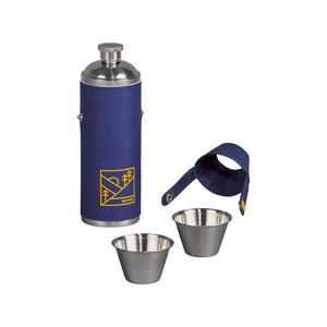 HIP FLASK & SHOT CUPS OPENED