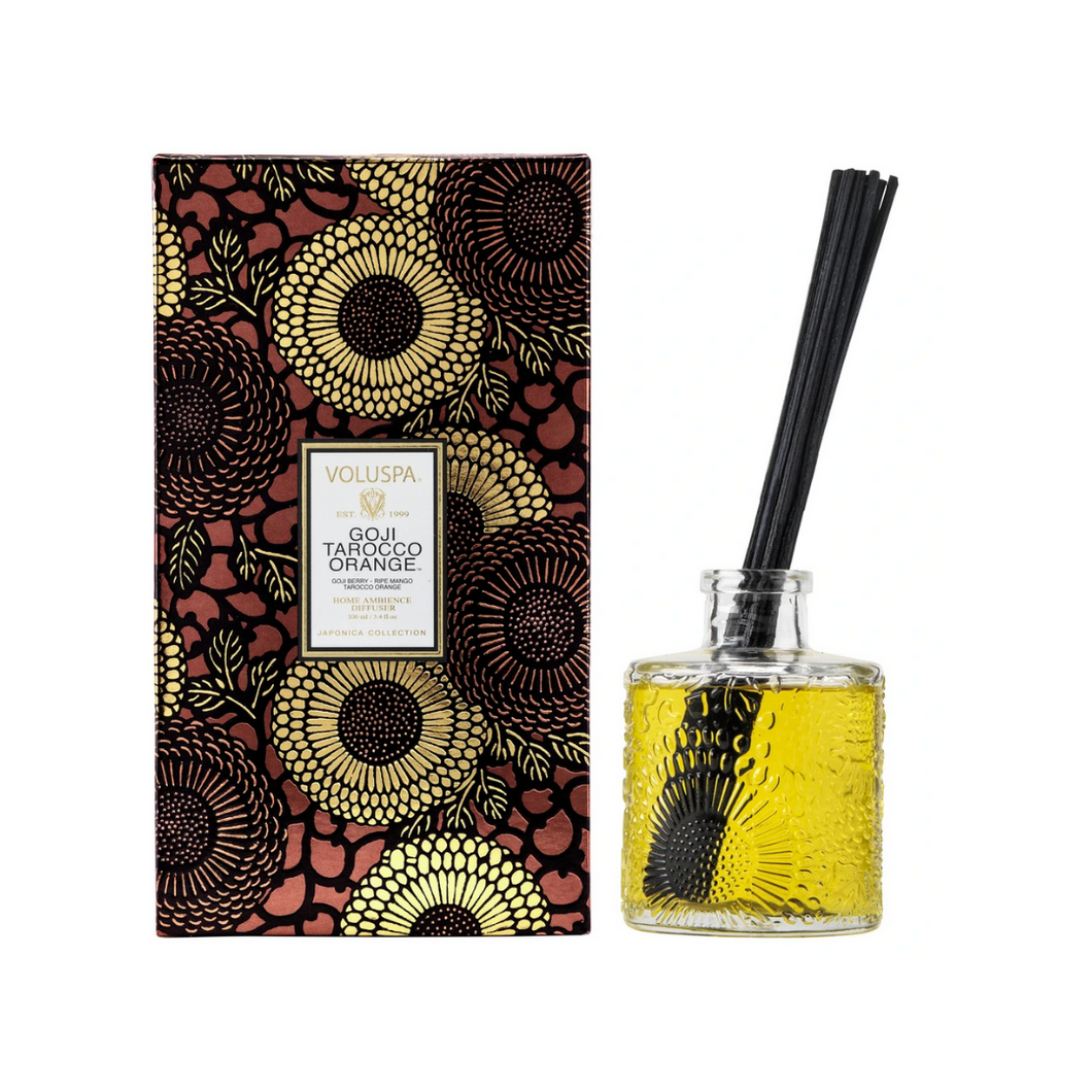 GOJI & TAROCCO ORANGE REED DIFFUSER