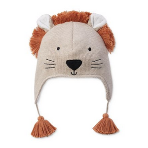LION AVIATOR HAT