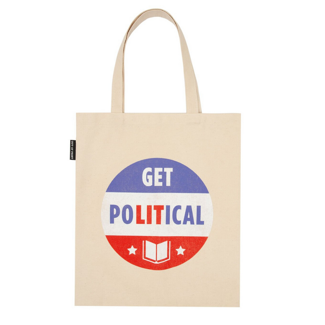 FRONT OF GET POLITICAL TOTE