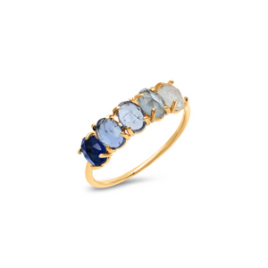 SAPPHIRE OMBRE RING