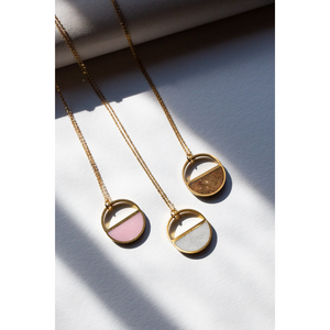 MULTIPLE HALF MOON NECKLACES