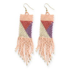 Load image into Gallery viewer, GEO SEED BEAD EARRINGS