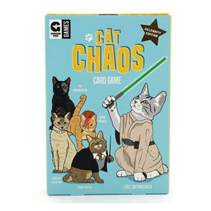 front view of CAT CHAOS CARD GAME box