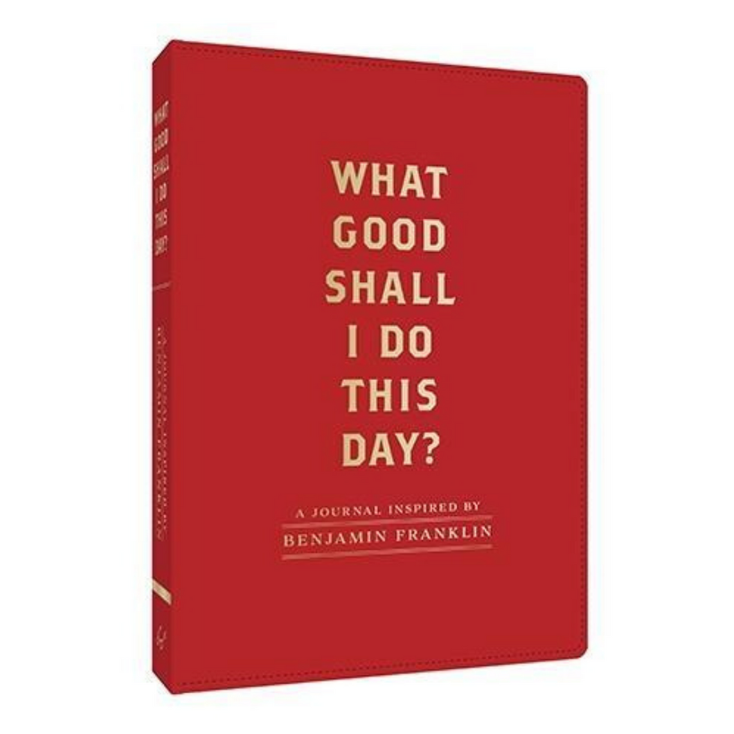 WHAT GOOD SHALL I DO THIS DAY? FRONT COVER