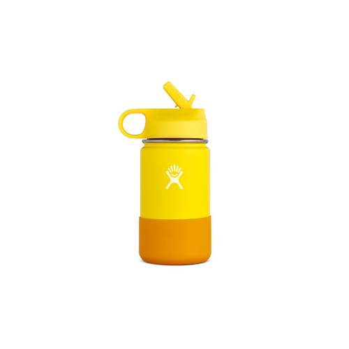 HYDROFLASK 12 OZ KIDS WATER BOTTLE IN LEMON