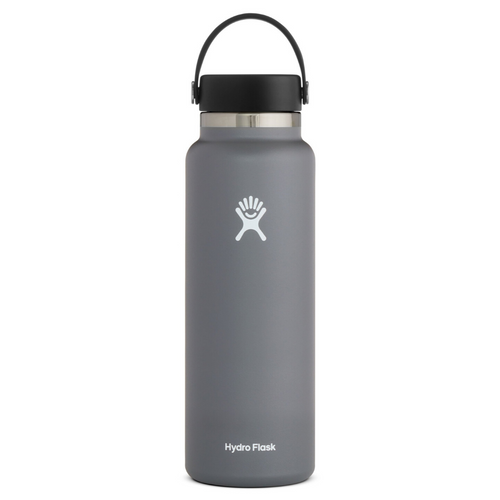 HYDROFLASK 40 OZ WATER BOTTLE IN STONE