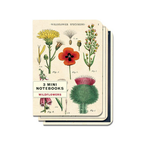 MINI WILDFLOWERS PARKS NOTEBOOK SET