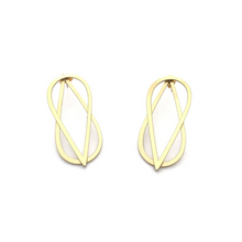 Load image into Gallery viewer, INFINITY JACKET EARRINGS IN GOLD