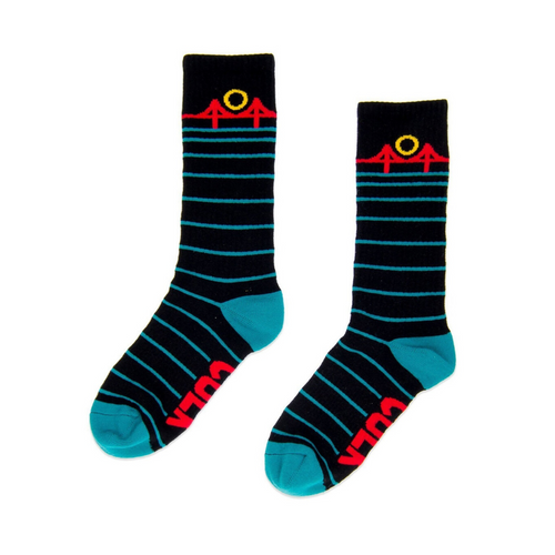 MINIMAL BRIDGE UNISEX SOCK BLACK