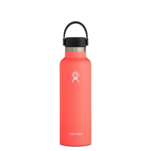 HYRDROFLASK 21 OZ WATER BOTTLE IN HIBISCUS
